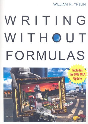 Writing Without Formulas   2008 edition cover