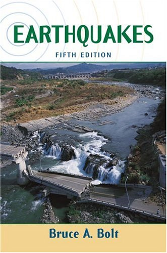 Earthquakes  5th 2003 (Enlarged) edition cover