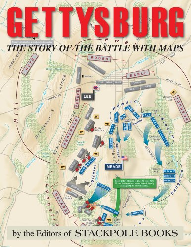 Gettysburg: The Story of the Battle With Maps  2013 edition cover