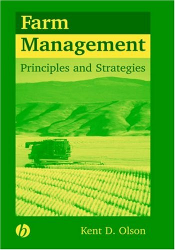 Farm Management Principles and Strategies  2003 edition cover