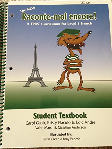 New Raconte-Moi Encore Student Textbook  2006 9780977791187 Front Cover