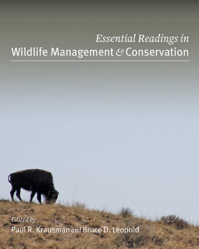 Essential Readings in Wildlife Management and Conservation   2013 edition cover
