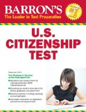 Barron's U. S. Citizenship Test, 8th Edition  8th 2014 (Revised) edition cover