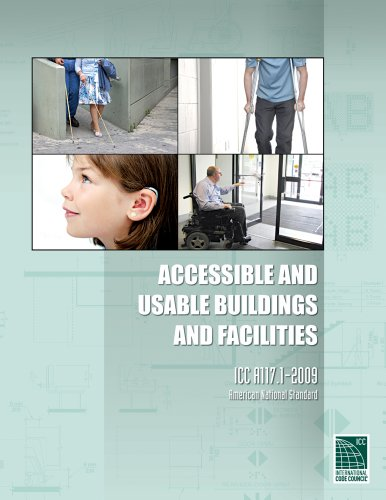 ICC A117. 1-2009 Accessible and Usable Buildings and Facilities   2010 edition cover