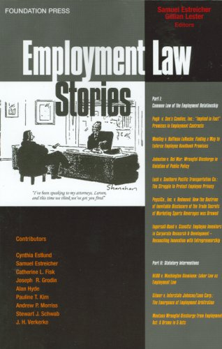 Employment Law Stories   2007 edition cover