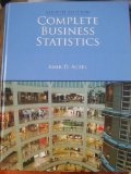 COMPLETE BUSINESS STATISTICS N/A edition cover