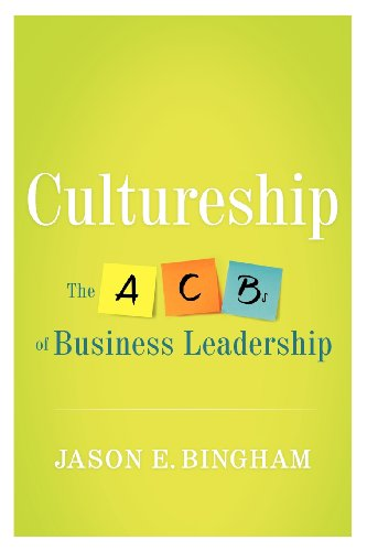 Cultureship The ACBs of Business Leadership  2013 edition cover