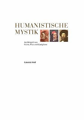 Humanistische Mystik N/A 9783839175187 Front Cover