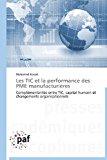 Tic et la Performance des Pme Manufacturi�res  N/A 9783841620187 Front Cover
