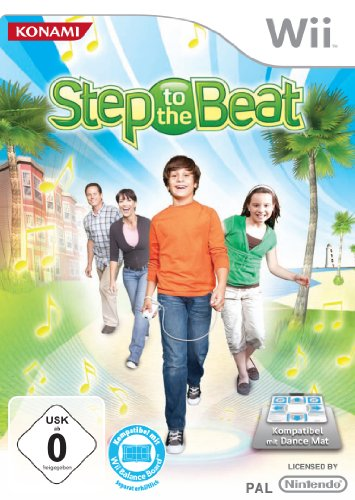 Step to the Beat Nintendo Wii artwork
