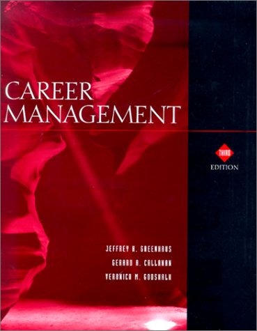 Career Management  3rd 2000 9780030224188 Front Cover