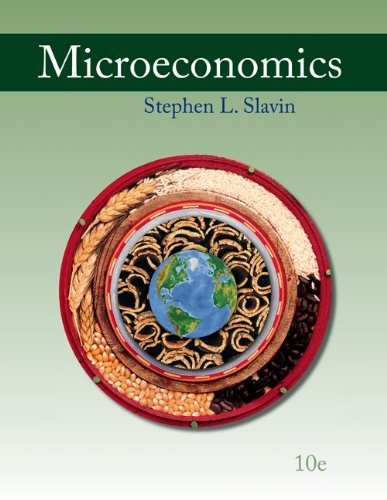 Microeconomics  10th 2011 9780077317188 Front Cover