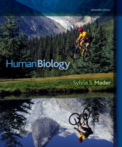 HUMAN BIOLOGY w/CONNECT PLUS  11th 2010 edition cover
