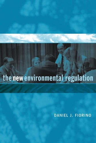 New Environmental Regulation   2006 9780262562188 Front Cover