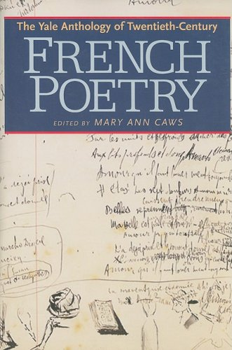 Yale Anthology of Twentieth-Century French Poetry   2008 edition cover