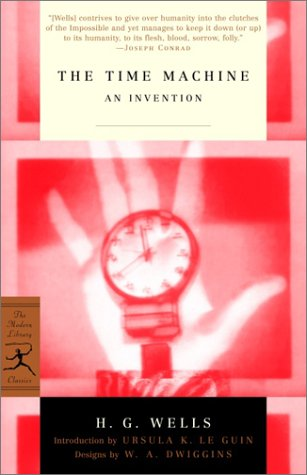 Time Machine An Invention  2002 edition cover