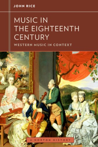 Music in the Eighteenth Century   2013 edition cover
