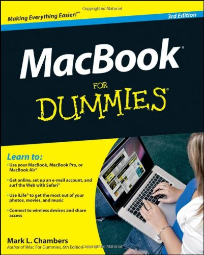 MacBook for Dummies  3rd 2010 9780470769188 Front Cover