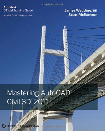 Mastering AutoCAD Civil 3D 2011   2010 9780470884188 Front Cover