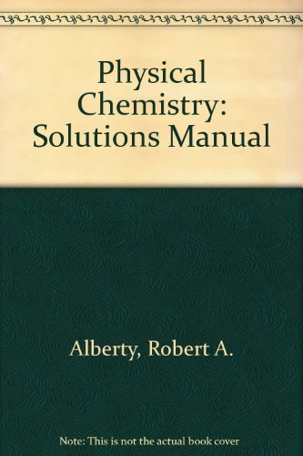 Physical Chemistry  8th 1992 (Student Manual, Study Guide, etc.) 9780471551188 Front Cover