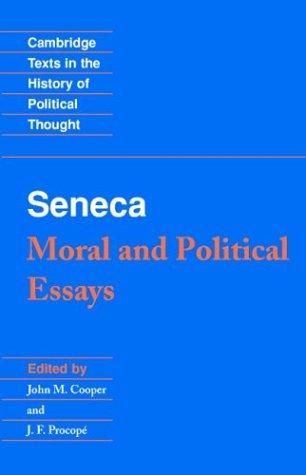 Seneca Moral and Political Essays  1995 edition cover