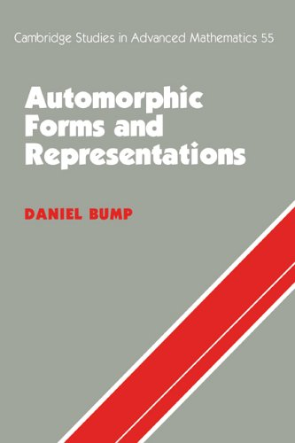 Automorphic Forms and Representations   1998 9780521658188 Front Cover