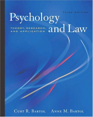 Psychology and Law Theory, Research, and Application 3rd 2004 (Revised) edition cover