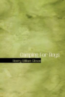 Camping for Boys  2008 edition cover