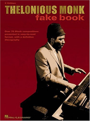 Thelonious Monk Fake Book  N/A 9780634039188 Front Cover