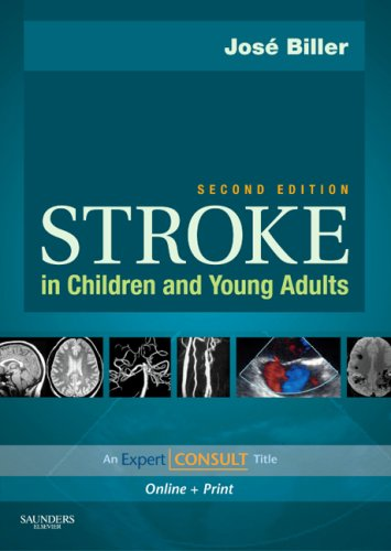 Stroke in Children and Young Adults  2nd 2009 edition cover