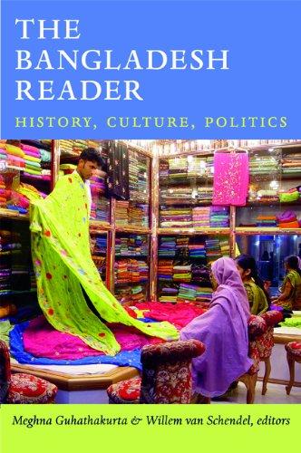 Bangladesh Reader History, Culture, Politics  2013 edition cover