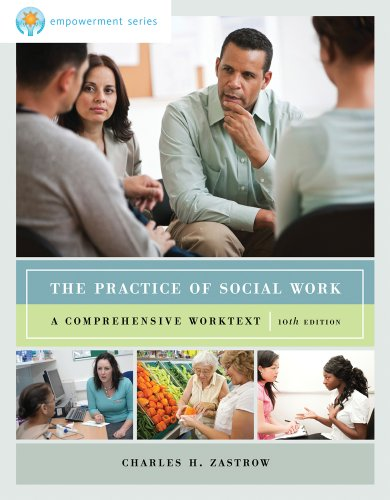 Practice of Social Work A Comprehensive Worktext 10th 2013 edition cover