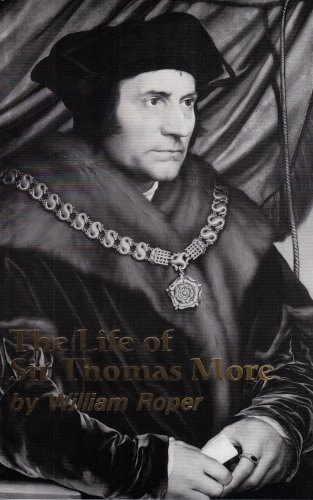 Life of Sir Thomas More 1st edition cover