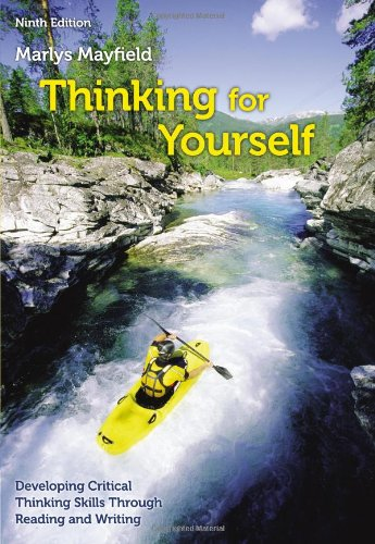Thinking for Yourself  9th 2014 9781133311188 Front Cover