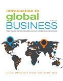 Introduction to Global Business: Understanding the International Environment & Global Business Functions  2016 9781305501188 Front Cover