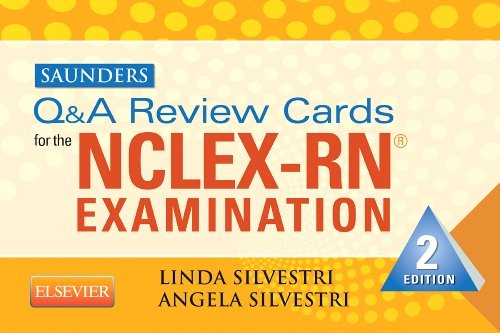 Saunders Q and a Review Cards for the NCLEX-RN� Exam  2nd edition cover