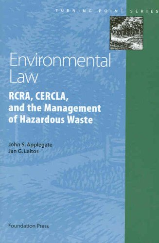 Environmental Law   2006 edition cover