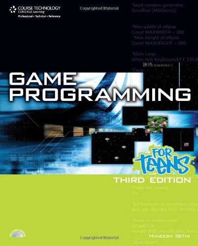 Game Programming for Teens  3rd 2009 edition cover