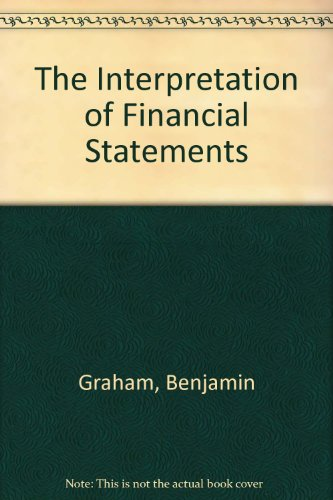 Interpretation of Financial Statements 3rd (Revised) edition cover