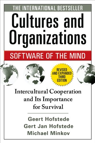 Cultures and Organizations Software for the Mind 3rd 2010 edition cover