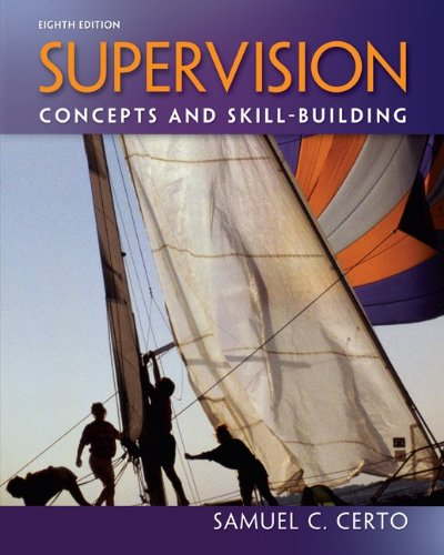 Supervision Concepts and Skill-Building 8th 2013 edition cover