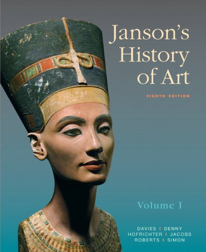 Janson's History of Art The Western Tradition, Volume I 8th 2011 edition cover