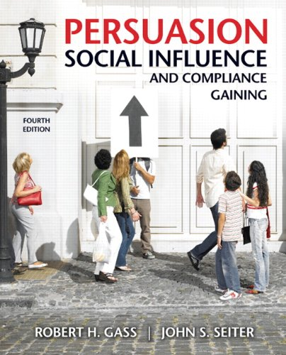 Persuasion, Social Influence, and Compliance Gaining  4th 2011 edition cover