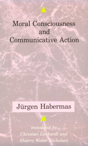 Moral Consciousness and Communicative Action  Reprint edition cover