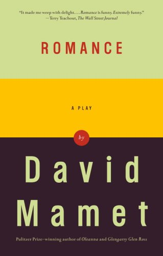 Romance A Play  2005 edition cover