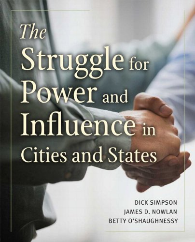 Struggle for Power and Influence in Cities and States   2011 edition cover