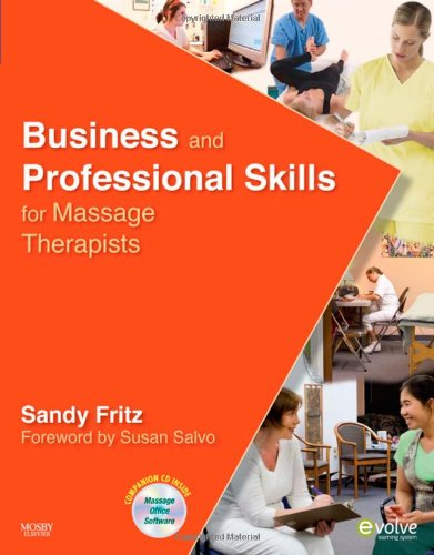 Business and Professional Skills for Massage Therapists   2010 edition cover
