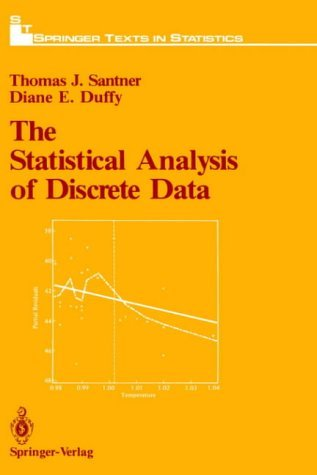 Statistical Analysis of Discrete Data   1989 9780387970189 Front Cover