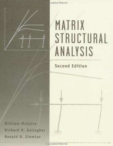 Matrix Structural Analysis  2nd 2000 edition cover