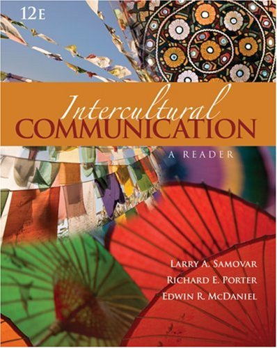 Intercultural Communication A Reader 12th 2009 edition cover